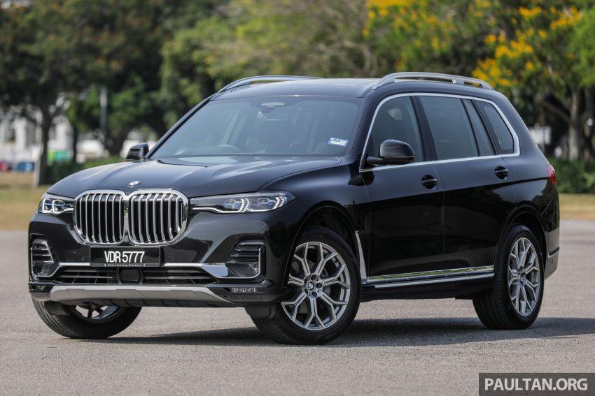 GALERI: BMW X7 xDrive40i G07 Design Pure Excellence — model SUV <em>flagship</em> besar, dari RM862k Image #1168799