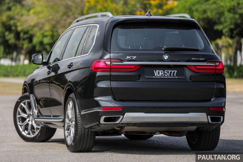 GALERI: BMW X7 xDrive40i G07 Design Pure Excellence — model SUV <em>flagship</em> besar, dari RM862k Image #1168803