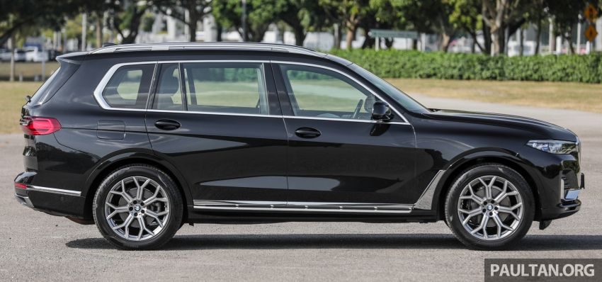 GALERI: BMW X7 xDrive40i G07 Design Pure Excellence — model SUV <em>flagship</em> besar, dari RM862k Image #1168804