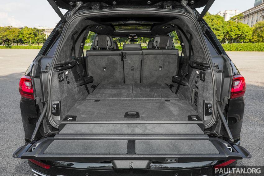 GALERI: BMW X7 xDrive40i G07 Design Pure Excellence — model SUV <em>flagship</em> besar, dari RM862k Image #1168946