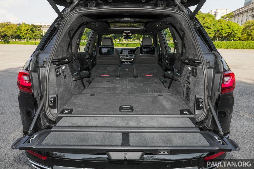 GALERI: BMW X7 xDrive40i G07 Design Pure Excellence — model SUV <em>flagship</em> besar, dari RM862k Image #1168947