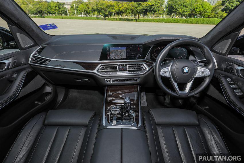 GALERI: BMW X7 xDrive40i G07 Design Pure Excellence — model SUV <em>flagship</em> besar, dari RM862k Image #1168836