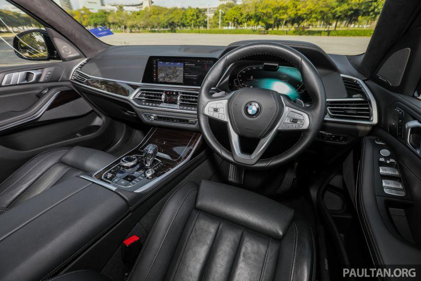 GALERI: BMW X7 xDrive40i G07 Design Pure Excellence — model SUV <em>flagship</em> besar, dari RM862k Image #1168905