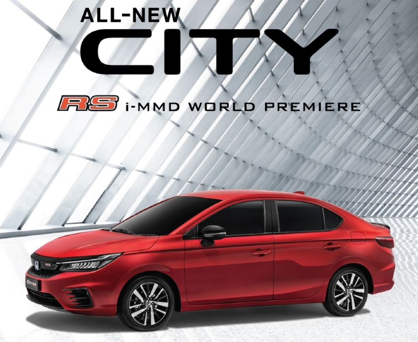2020 Honda City open for booking in Malaysia – new 1.5L NA DOHC, world debut for RS i-MMD, Q4 launch Image #1160632