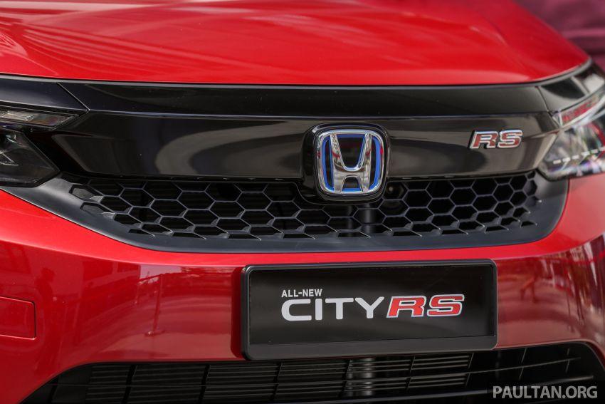 GALLERY: 2020 Honda City RS i-MMD – Malaysia to get Honda Sensing, LaneWatch and rear disc brakes Image #1165414