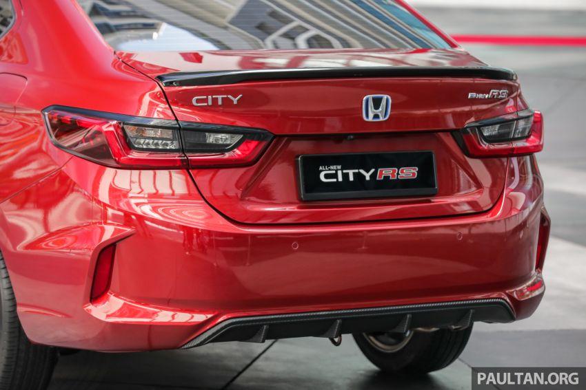 GALLERY: 2020 Honda City RS i-MMD – Malaysia to get Honda Sensing, LaneWatch and rear disc brakes Image #1165423