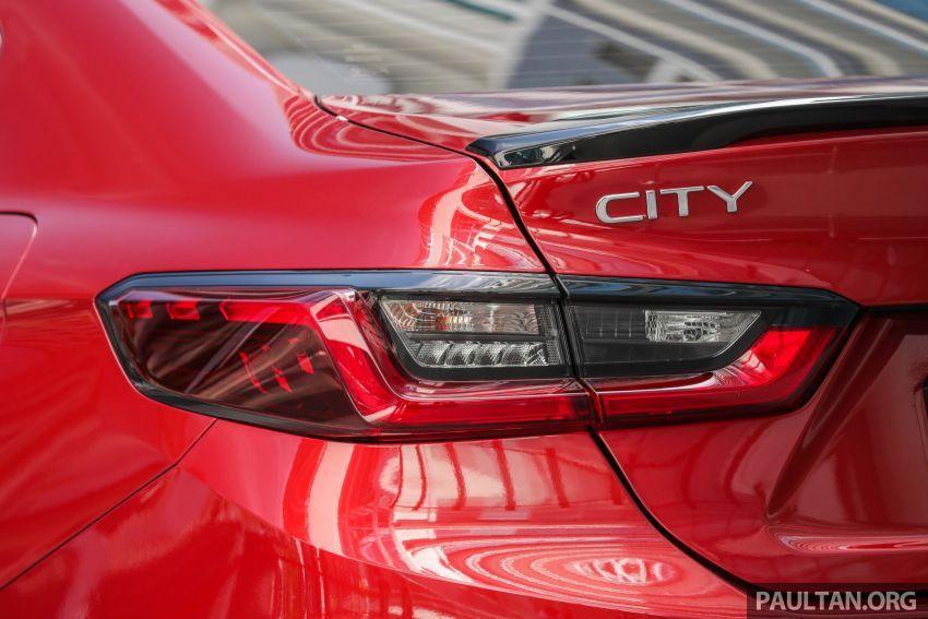 Honda City 2020 e:HEV RS i-MMD di prebiu – ada Honda Sensing, LaneWatch dan brek cakera belakang Image #1165328