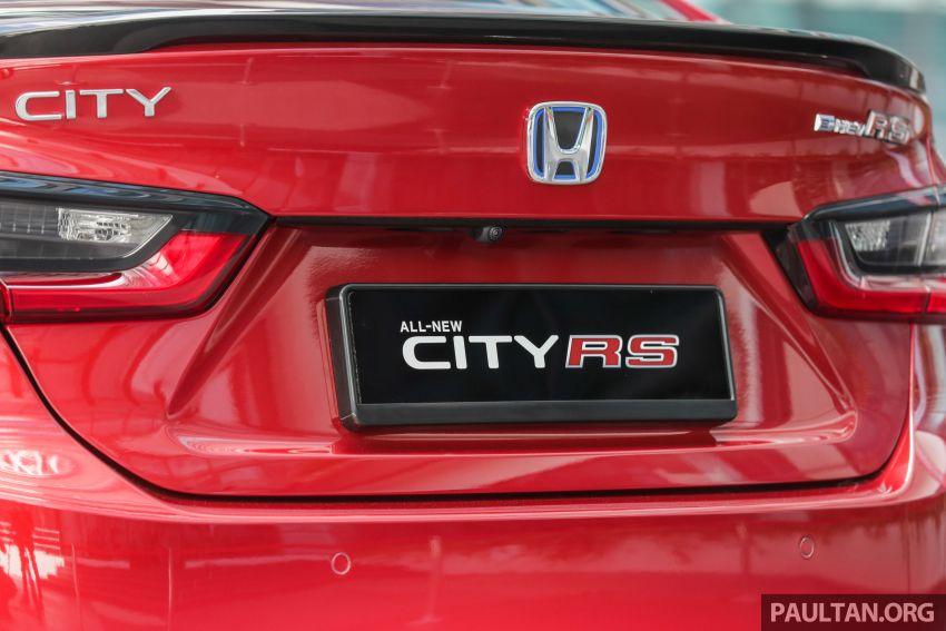 Honda City 2020 e:HEV RS i-MMD di prebiu – ada Honda Sensing, LaneWatch dan brek cakera belakang Image #1165333