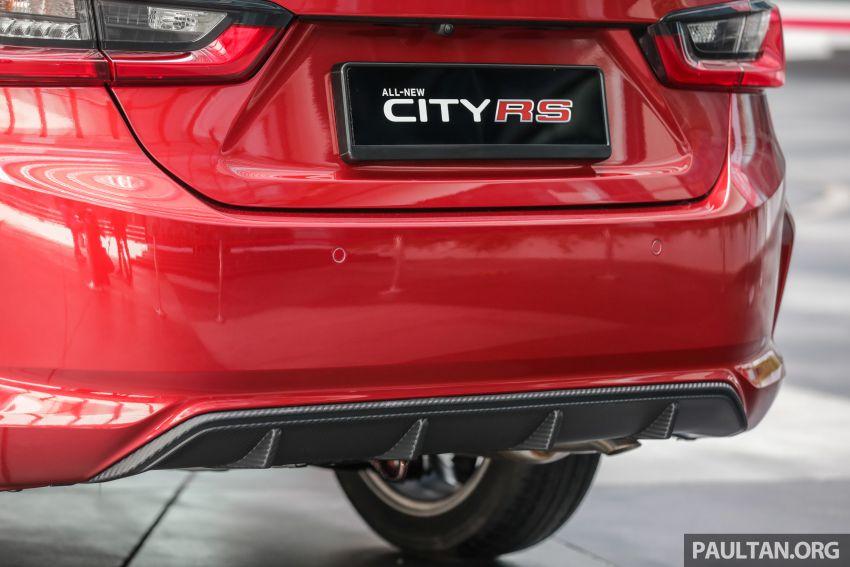 GALLERY: 2020 Honda City RS i-MMD – Malaysia to get Honda Sensing, LaneWatch and rear disc brakes Image #1165427