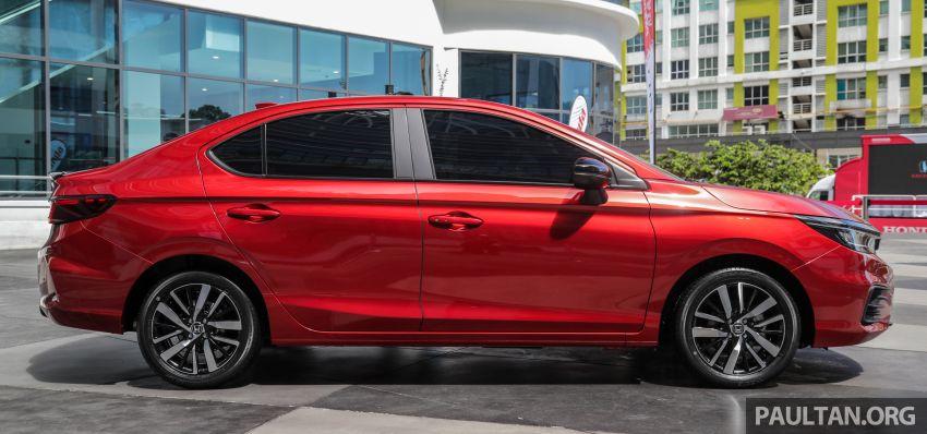 Honda City 2020 e:HEV RS i-MMD di prebiu – ada Honda Sensing, LaneWatch dan brek cakera belakang Image #1165301