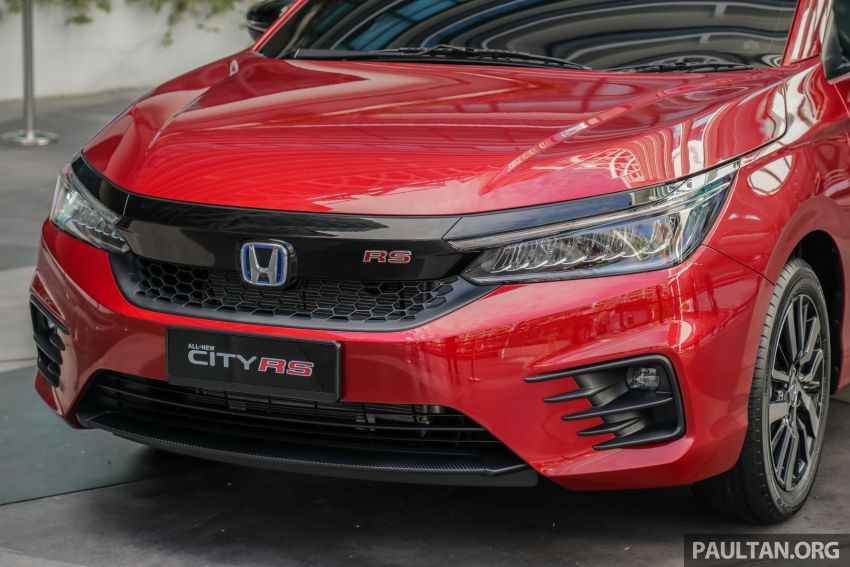 GALLERY: 2020 Honda City RS i-MMD – Malaysia to get Honda Sensing, LaneWatch and rear disc brakes Image #1165411