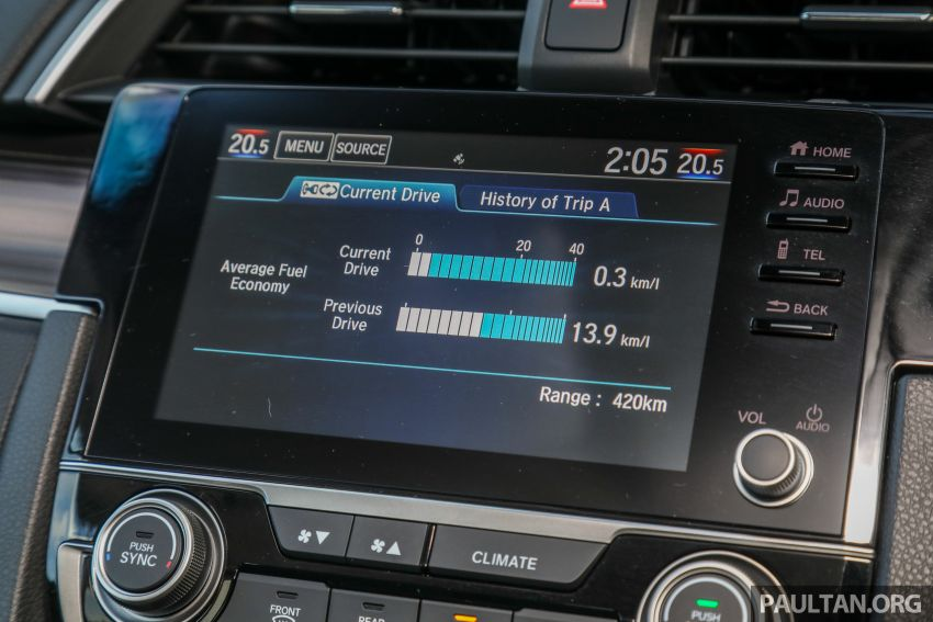 GALLERY: 2020 Honda Civic 1.5 TC-P facelift – RM135k Image #1158355