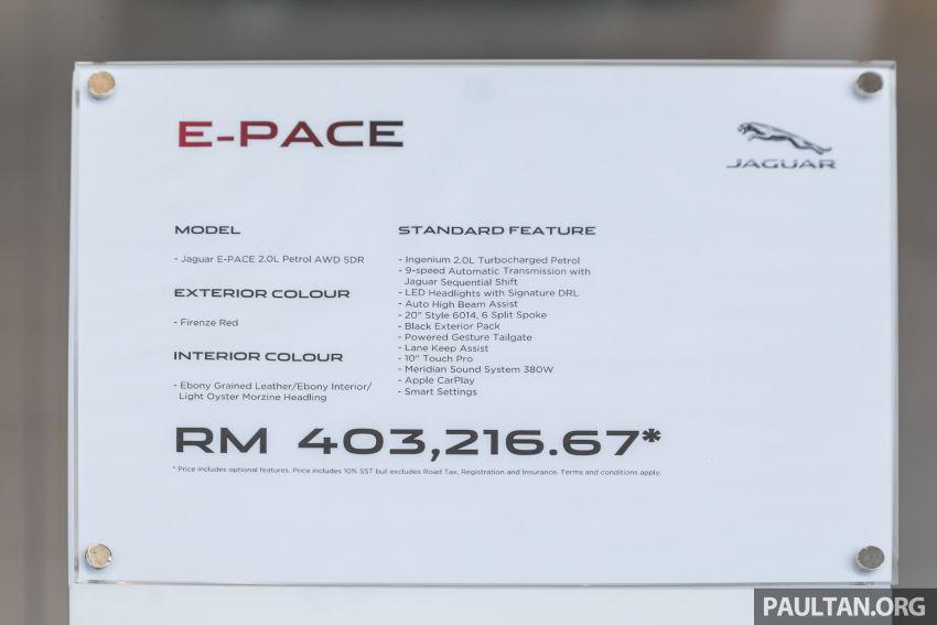 GALERI: Jaguar E-Pace P200 2.0L AWD 2020 – RM403k Image #1168766