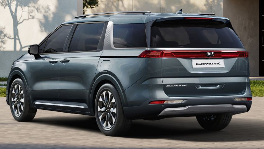2021 Kia Grand Carnival detailed – 294 PS 3.5L V6 petrol and 202 PS 2.2L diesel, comprehensive safety Image #1162993