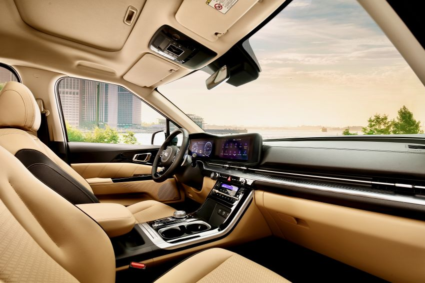 2021 Kia Grand Carnival detailed – 294 PS 3.5L V6 petrol and 202 PS 2.2L diesel, comprehensive safety Image #1162999