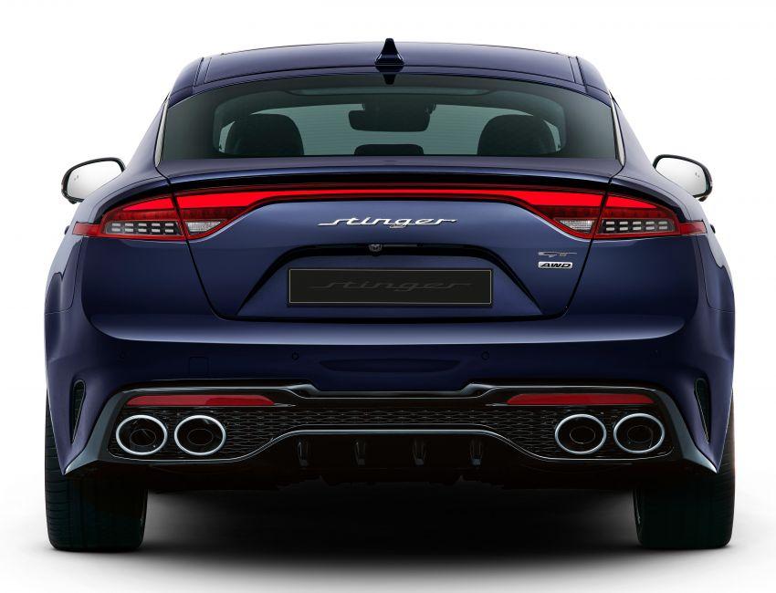 2020 Kia Stinger facelift revealed before market launch Image #1158953