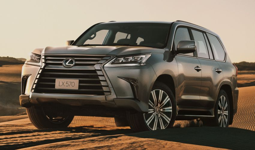 2020 Lexus LX 570 SUV open for booking in Malaysia – new Sport variant, now priced from RM1.226 million Image #1164453