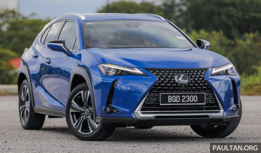 FIRST DRIVE: 2020 Lexus UX 200 Malaysian review Image #1164746