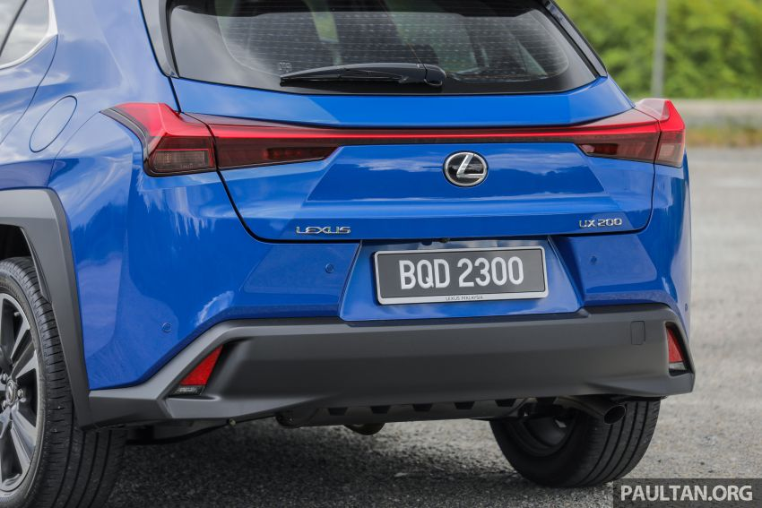 FIRST DRIVE: 2020 Lexus UX 200 Malaysian review Image #1164773
