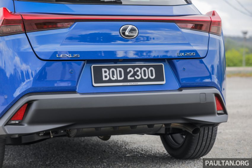 FIRST DRIVE: 2020 Lexus UX 200 Malaysian review Image #1164779