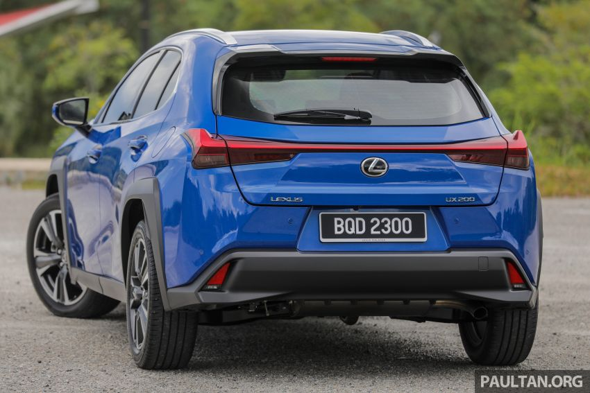 FIRST DRIVE: 2020 Lexus UX 200 Malaysian review Image #1164751