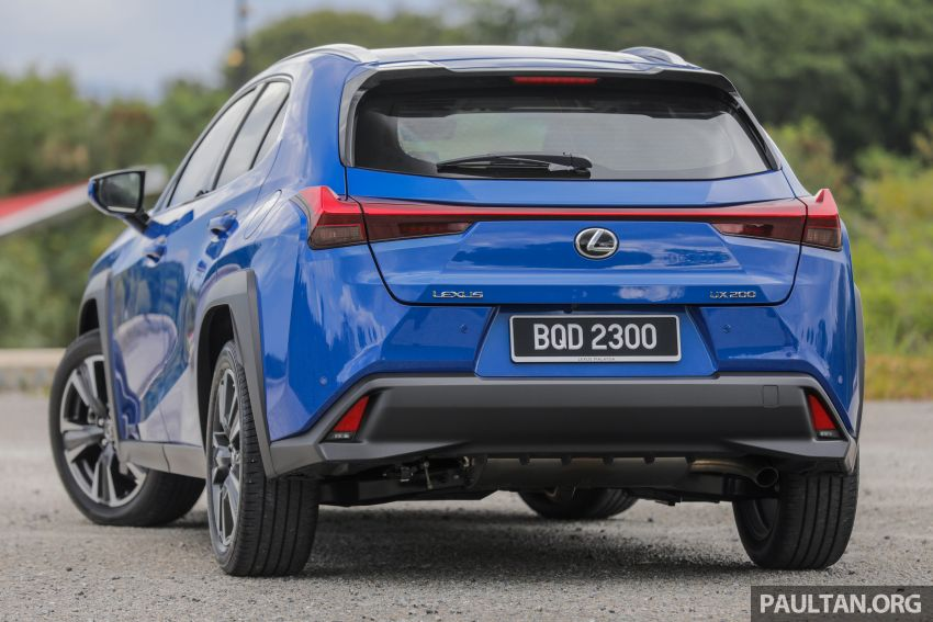 FIRST DRIVE: 2020 Lexus UX 200 Malaysian review Image #1164752