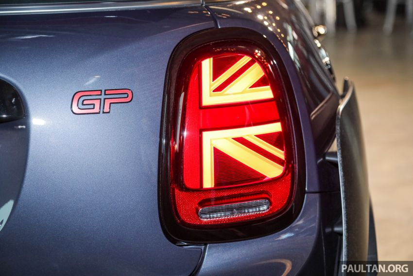 2020 MINI John Cooper Works GP launched – hot two-seater F56 with 306 PS, just 10 units in M'sia, RM377k Image #1166749