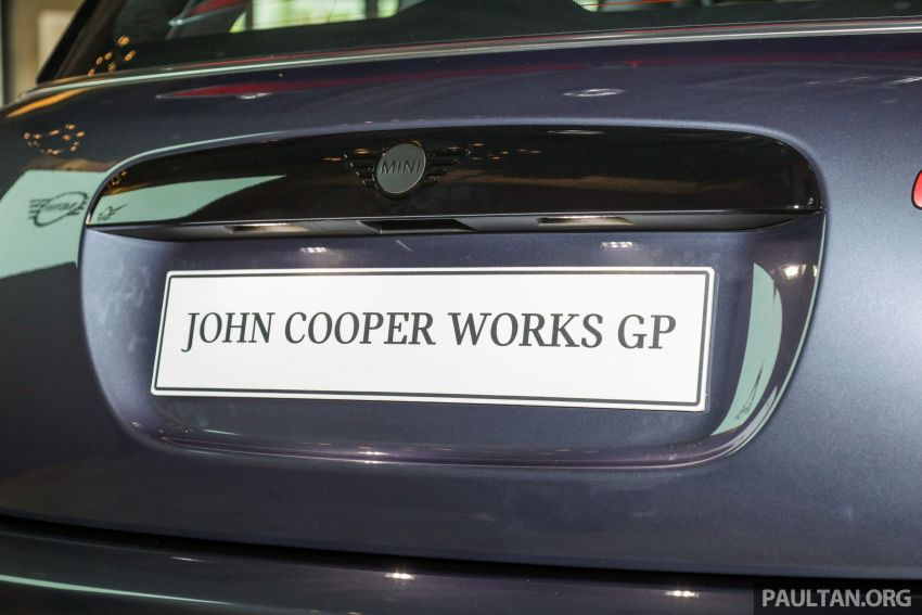 2020 MINI John Cooper Works GP launched – hot two-seater F56 with 306 PS, just 10 units in M'sia, RM377k Image #1166752