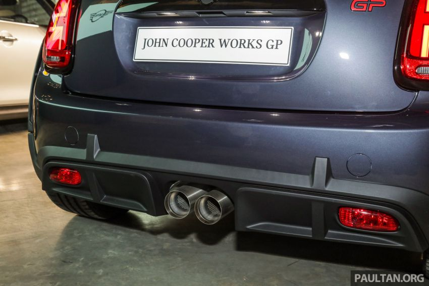 2020 MINI John Cooper Works GP launched – hot two-seater F56 with 306 PS, just 10 units in M'sia, RM377k Image #1166753