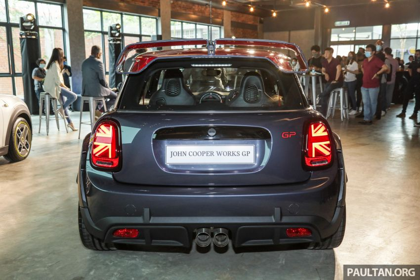2020 MINI John Cooper Works GP launched – hot two-seater F56 with 306 PS, just 10 units in M'sia, RM377k Image #1166732