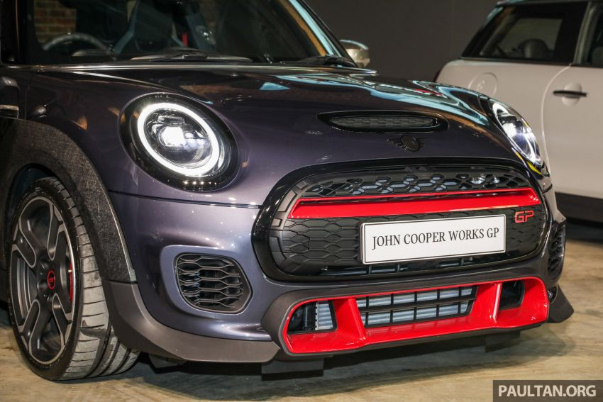 2020 MINI John Cooper Works GP launched – hot two-seater F56 with 306 PS, just 10 units in M'sia, RM377k Image #1166733