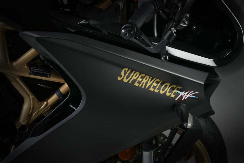 2020 MV Agusta Superveloce 800, RM93,272 in Europe Image #1157167