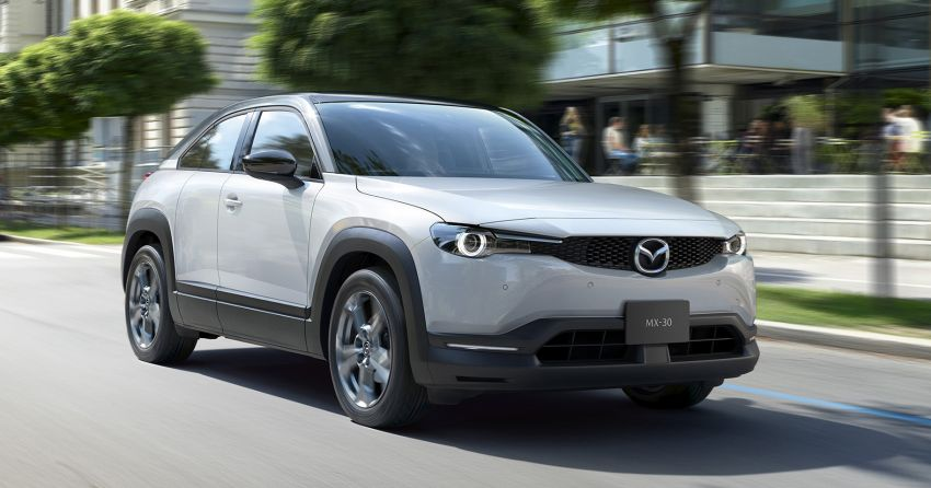 Mazda MX-30 mild-hybrid variant to go on sale in Japan, leasing for pure EV version later this year Image #1158702