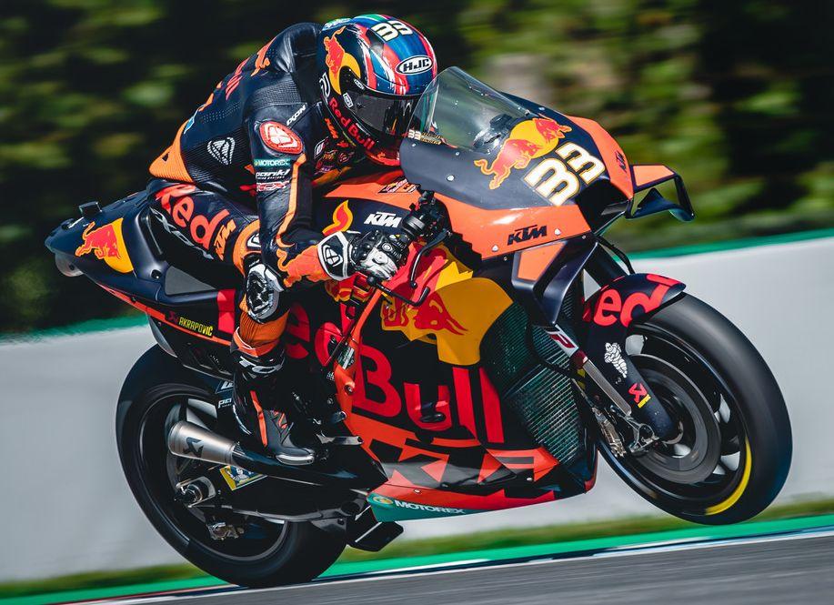 2020 Motogp Brno Red Bull Ktm Factory Racing Brad Binder 8 Paul Tan S Automotive News