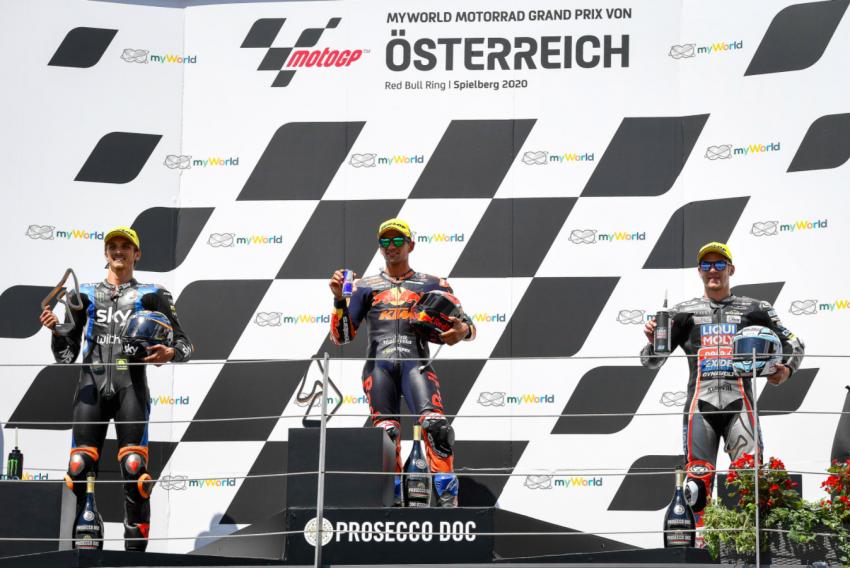 2020 MotoGP: Crash marred weekend in Austria Image #1161606