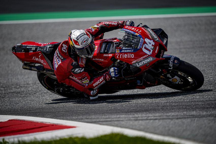 2020 MotoGP: Crash marred weekend in Austria Image #1161642