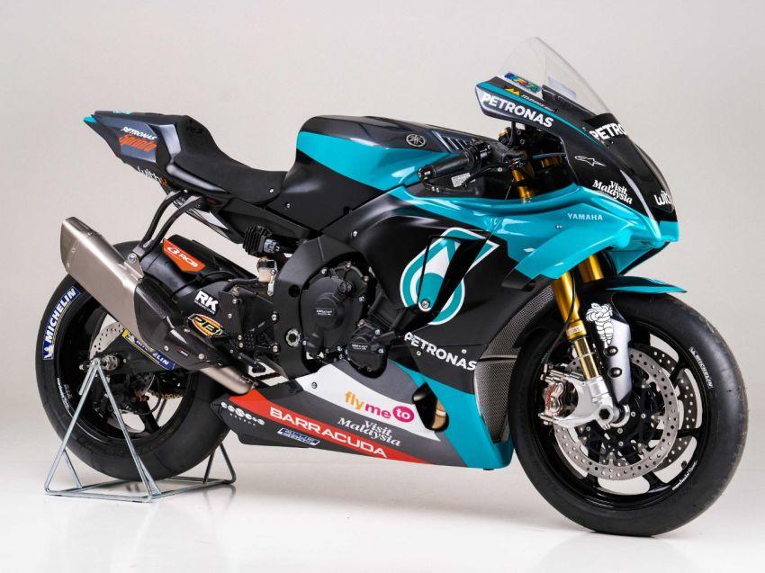 2020 Petronas Yamaha SRT YZF-R1 MotoGP Replica Image #1164482