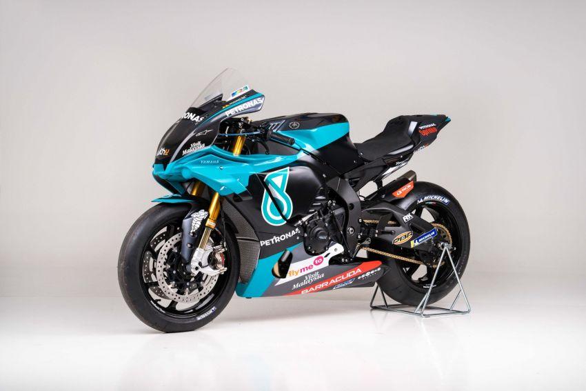 2020 Petronas Yamaha SRT YZF-R1 MotoGP Replica Image #1164483