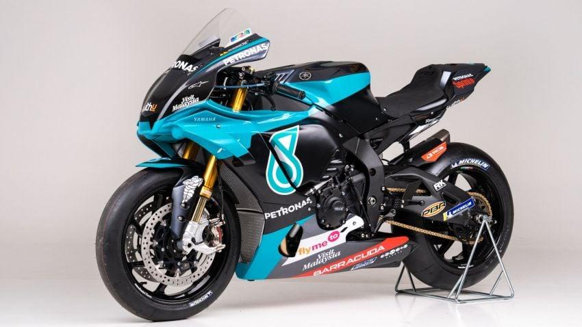 2020 Petronas Yamaha SRT YZF-R1 MotoGP Replica Image #1164486