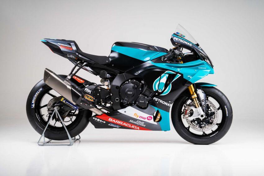 2020 Petronas Yamaha SRT YZF-R1 MotoGP Replica Image #1164487