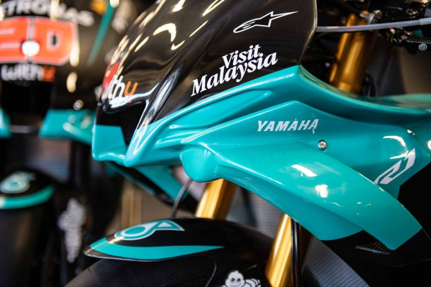 2020 Petronas Yamaha SRT YZF-R1 MotoGP Replica Image #1164488