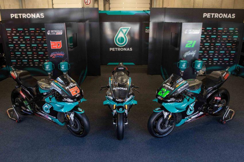 2020 Petronas Yamaha SRT YZF-R1 MotoGP Replica Image #1164475