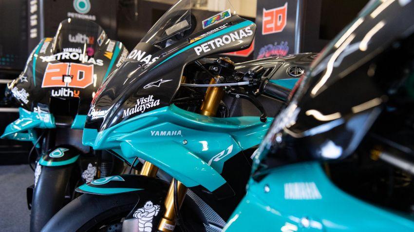 2020 Petronas Yamaha SRT YZF-R1 MotoGP Replica Image #1164476
