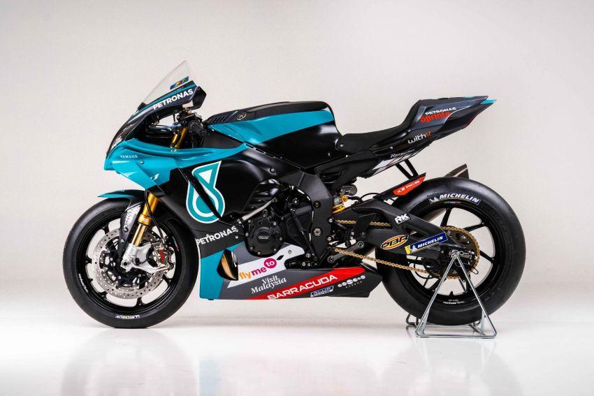 2020 Petronas Yamaha SRT YZF-R1 MotoGP Replica Image #1164477
