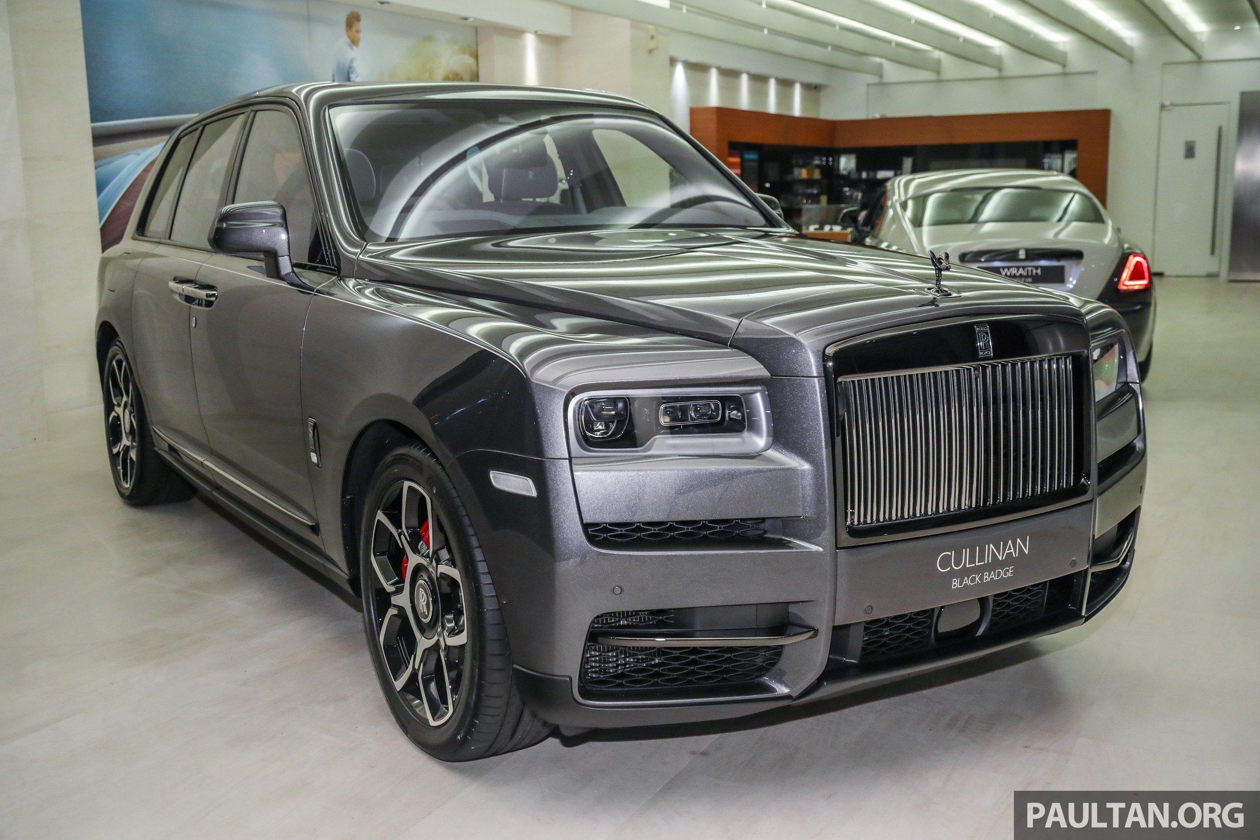 Gallery Rolls Royce Cullinan Black Badge Close Up Paultan Org
