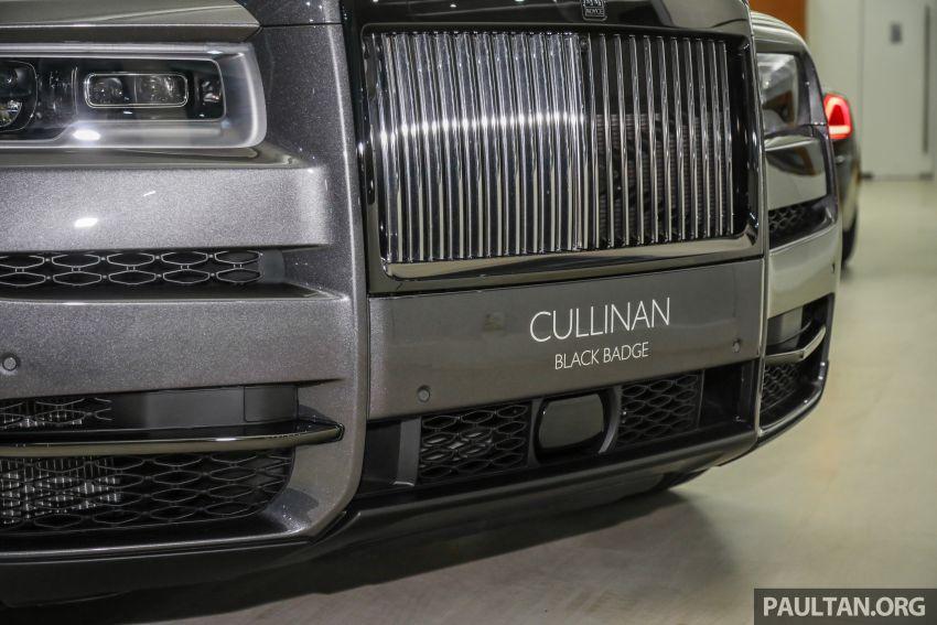 GALLERY: Rolls-Royce Cullinan Black Badge close-up Image #1157654