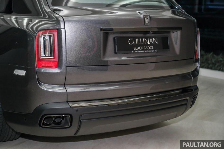 GALLERY: Rolls-Royce Cullinan Black Badge close-up Image #1157664