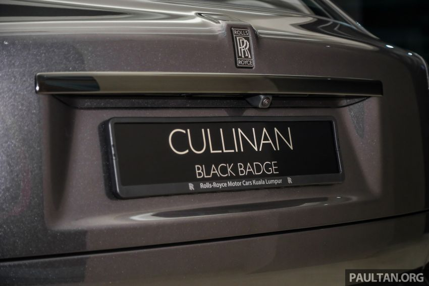 GALLERY: Rolls-Royce Cullinan Black Badge close-up Image #1157667