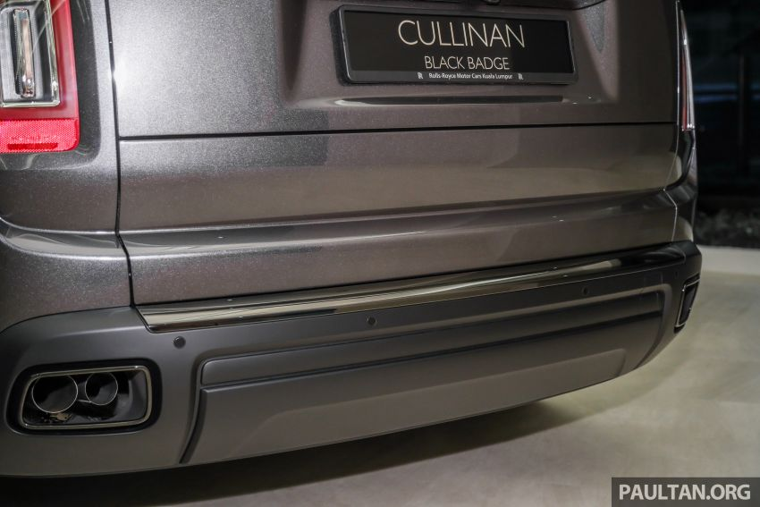 GALLERY: Rolls-Royce Cullinan Black Badge close-up Image #1157668