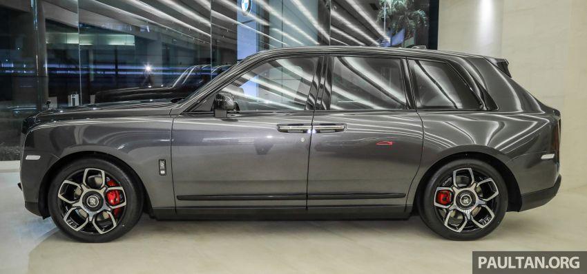 GALLERY: Rolls-Royce Cullinan Black Badge close-up Image #1157646
